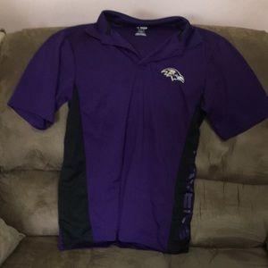 Ravens men's 👕 polo shirt